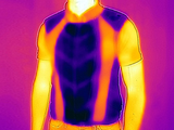 The infrared camera proves: E.COOLINE Powercool SX3 RaceVest