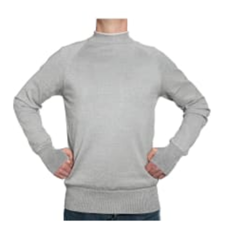 001 - Nahtlos gestricktes, schnittfestes Sweatshirt
