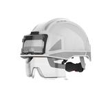 vista lens white badge