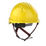 EVO®5 DualSwitch™ Industrial Climbing Helmet - Yellow