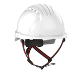 EVO®5 DualSwitch™ Industrial Climbing Helmet - White