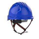 EVO®5 DualSwitch™ Industrial Climbing Helmet - Blue
