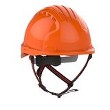 EVO®5 DualSwitch™ Industrial Climbing Helmet - Orange