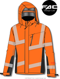 PPE - High-Visibility Softshell Jacket, EN ISO 20471