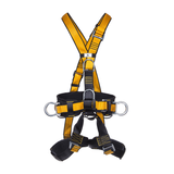 ATOM - Professioneller Auffanggurt für seilunterstützte Zugangstechniken, insbesondere mit Hängesitz