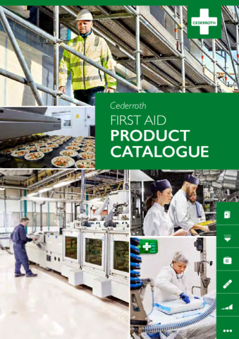 Cederroth First Aid product catalogue